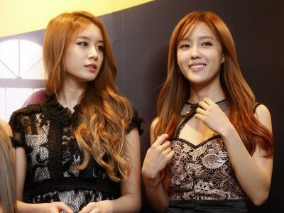 Girl Group ,T-ara, admits getting their eyes and noses done.