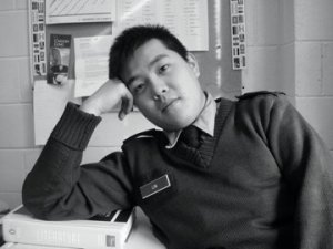 Larry Lin, co-manager of LaTea Bubble Tea Lounge at West Lafayette